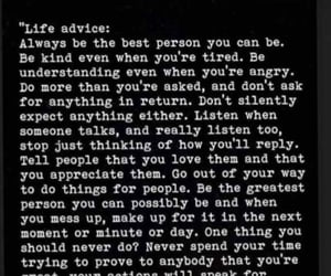 advice, inspiration, and life image