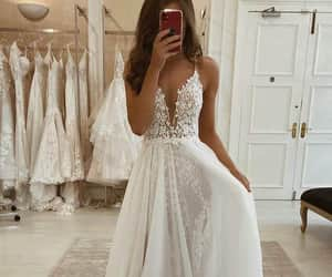 A-line V-neck Spaghetti Straps Lace Bohemian Wedding Dress Rustic Bridal Gowns QW2097|SQOSA