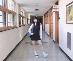 highschool, ulzzang, and 얼짱 image
