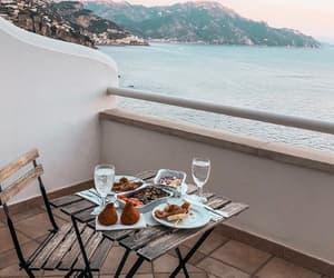 aesthetic, food, and balcony image