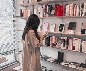 book, girl, and ulzzang image