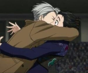 anime, viktor nikiforov, and yuri on ice image
