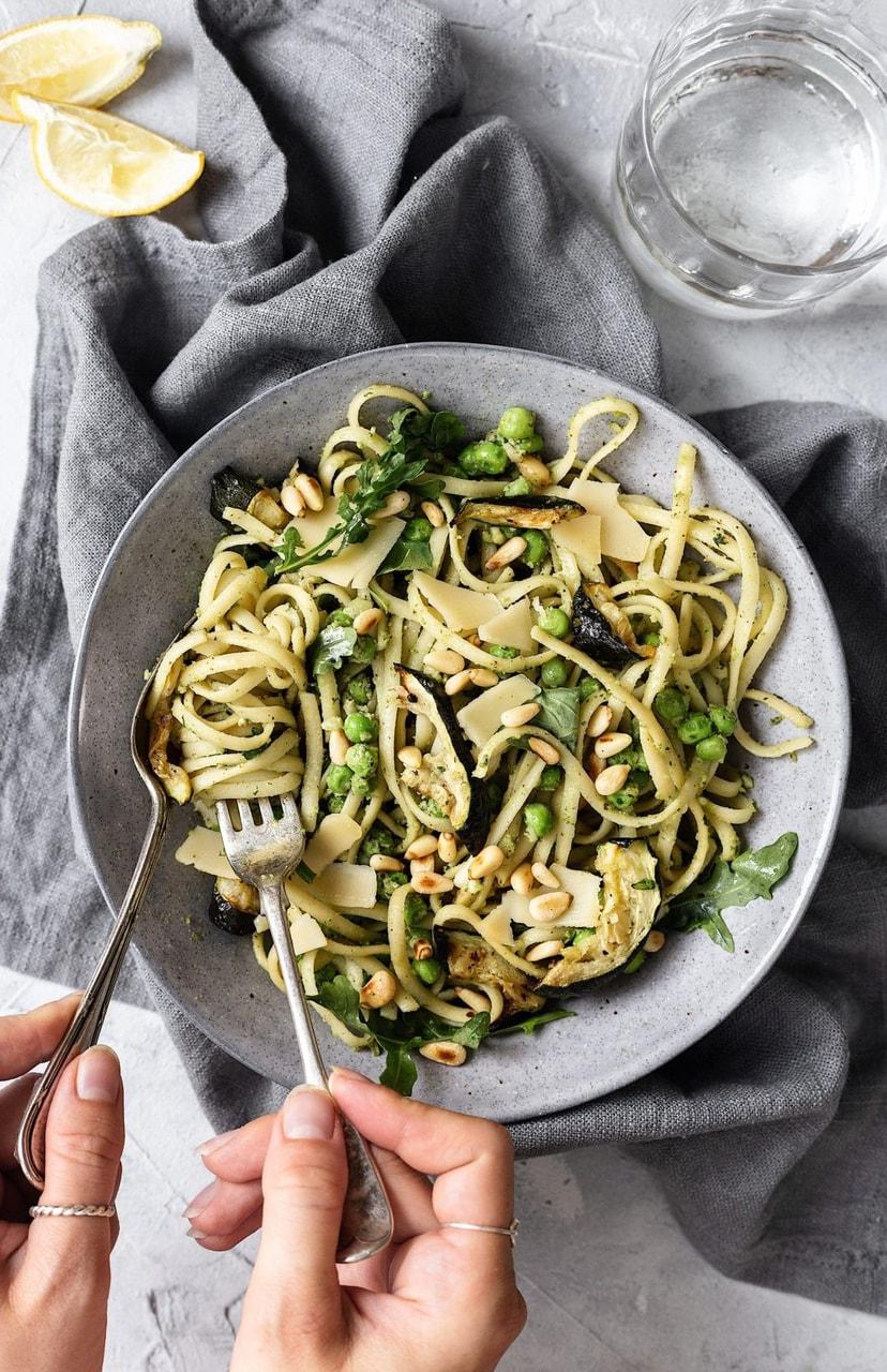 food, vegan, vegan pasta and vegan recipe