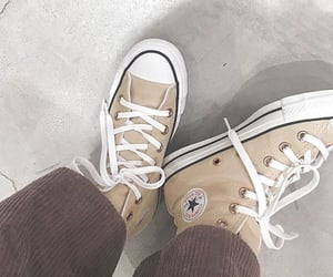 shoes, aesthetic, and beige image