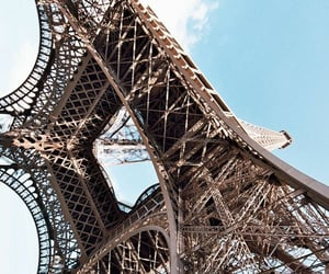 lugares, torre eiffel, and foto image