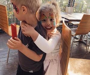 babies, hug, and kids image