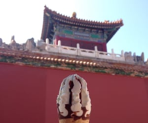 china, travel, and ice cream image