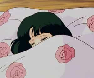 anime, aesthetic, and sleep image