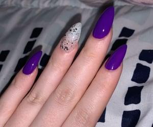 design, nail art, and rainbow nails image