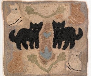 cat and rug image