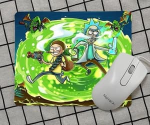 mouse pad and rick and morty image