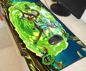 large, rick and morty, and mouse pad image