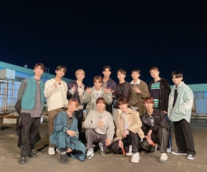 Seventeen, dino, and DK image