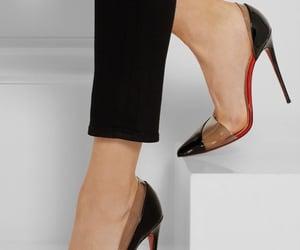 fashion, salto, and high heels image