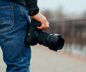 camera, photographer, and aventure image