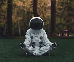 astronaut, astronauts, and breathe image