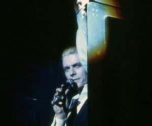 1976, david bowie, and white duke image