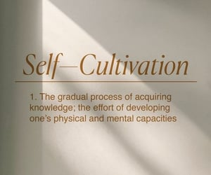Self-Cultivation