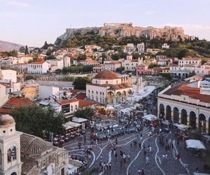architecture, Athens, and beautiful places image