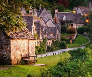country, english, and village image
