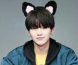 cat, cat ears, and bts image