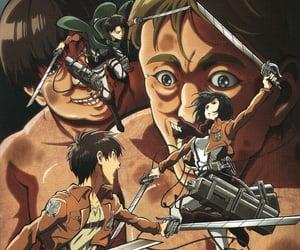 anime, snk, and shingekinokyojin image