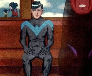 dick grayson, robin, and spirited away image
