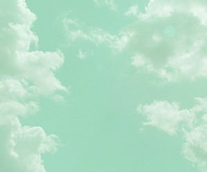 clouds, green, and wallpaper image