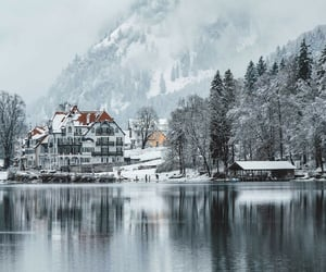 Winter in Alpsee, Barvaria @bmseventh on Instagram
