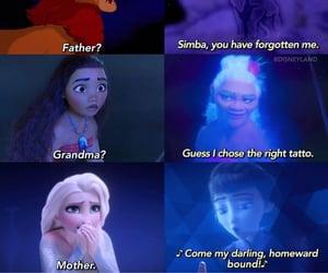 elsa, moana, and frozen 2 image