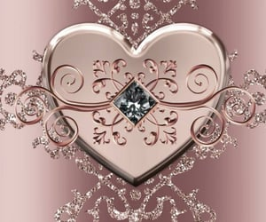 aesthetic, diamond, and gold image