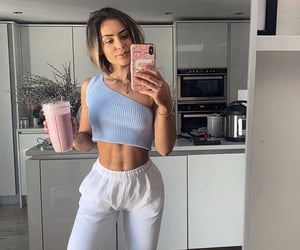 fit, fitness, and woman image