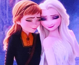 frozen, kristoff, and anna image
