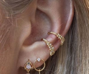 accessories, earrings, and fashion image