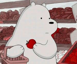 bear, anime, and Blanc image