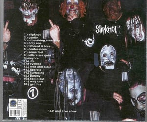 archive, slipknot, and metal image