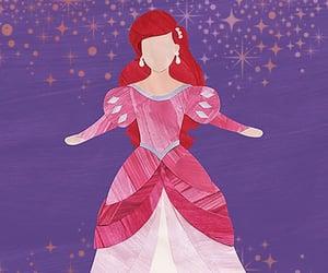 ariel, movies, and princess image