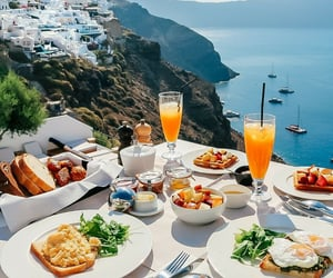 travel, breakfast, and food image