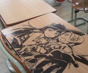 anime, theme, and school image