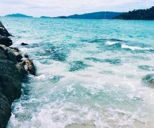 beach, water, and Dream image