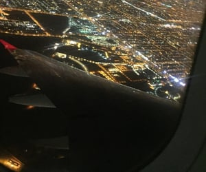 airport, Flying, and places image