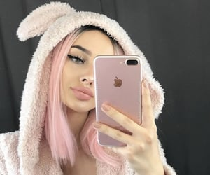 aesthetic, apple, and bear suit image