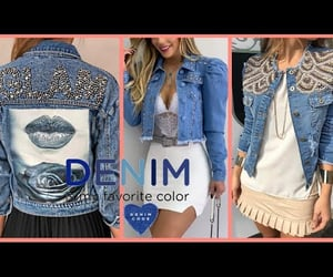 beauty, con, and denim image
