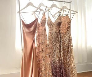 bridesmaids, dresses, and gowns image
