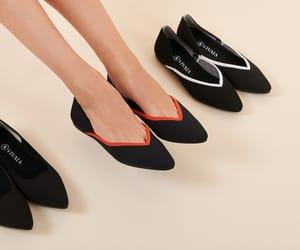 ballet flats, knit shoes, and vivaia image