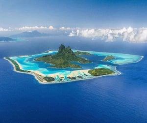 bora bora, Island, and paisaje image
