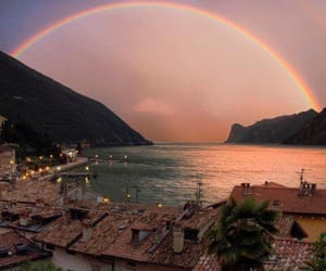 rainbow, travel, and nature image