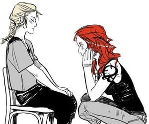 tda, clary fairchild, and emma carstairs image