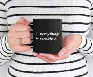 etsy, gothic mug, and funny quote mug image