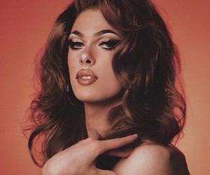 drag queen, makeup, and gigi image